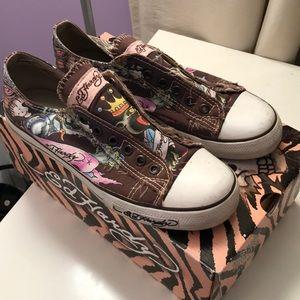 Ed Hardy Slip-On Sneakers